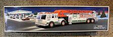 Hess 2000 Fire Truck EXTANDING LADDER FLASHING LIGHTS SIRENS HORN NEW FASTSHIP