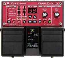 BOSS RC-30 RC30 LOOP STATION DUAL TRACK LOOPER,NUOVO.