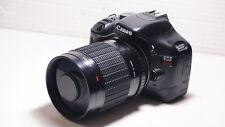 EOS fit 500mm lens =750mm on CANON DIGITAL SLR 70D 700D 750D 650D 1200D  550D 6D
