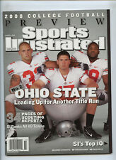 Sports Illustrated Ohio State Football Laurinaitis Boeckman Wells No Label 2008