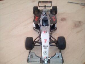 Tamiya F-1 1/20 McLaren Mercedes-Benz MP4/13 Hakkinen Couthard built