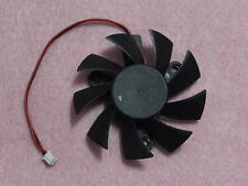 75mm XFX HD 5750 5770 7750 7770 Fan Replacement 47mm 2Pin PLA08015S12HH R196a