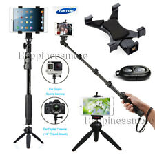 Phone Tablet Selfie Stick Tripod+Bluetooth Remote for iPad Gopro Camera iPhone11