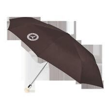 Mercedes Benz Original 300 Sl Parapluie de Poche Parapluie Marron Neuf Ovp