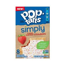 Pop Tarts Simply Frosted Harvest Strawberry 8 Count 13.5 oz