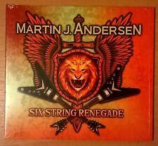 MARTIN J. ANDERSEN Six String Renegade (CD sealed) BLINDSIDE BLUES BAND