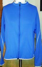 Pearl Izumi Women's Slate Blue Long Sleeve cycling jacket (Large)