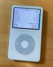 Apple 30GB iPod Classic Video - White - MA444LL
