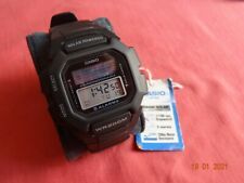 NOS & Rare CASIO SOLAR HDD-S100 (3274 Module) LCD Digital Watch