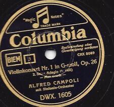 Walter GOEHR-Alfred Sociedad Violin MAX rottura Concerto-tedesco Columbia