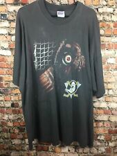 Vintage 90s Anaheim Ducks Mens 3XL Black Shirt Mighty Ducks NHL Ice Hockey XXXL