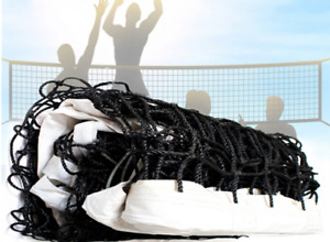 9.5 M Competition Size Portable Outdoor Beach Garden Volleyball Net Sports AU