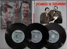 """POMUS & SHUMAN """"The Songs Of"""" (3 CD Digipack) 2014"""