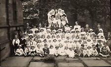 Preston photo. Group & Church by Henry Melling, 135a Church St.,Preston.