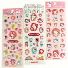 3 Sheets of Sanrio Charmmy Kitty Puffy Cushion Glitter Pearl Sponge Stickers