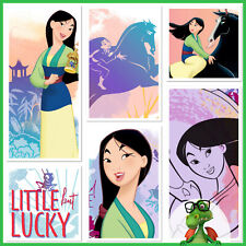 TOPPS DISNEY COLLECT - DIGITAL - Mulan - Watercolors w/award