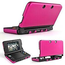 TNP New 3DS XL Case (Hot Pink) - Plastic + Aluminium Full Body Protective Sna...