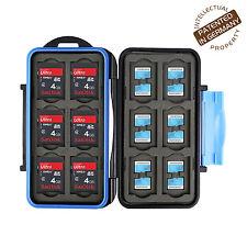Turtle-SD12MSD24 spritzwasserdichte Schutzbox für 12 SDHC und 24 MicroSD