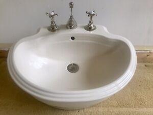 Victorian Edwardian Style B.C Sanitan of London Sink & Taps