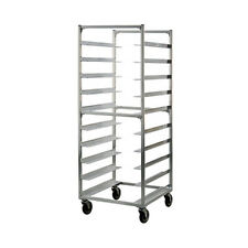 New Age 95048 Mobile Open Sides Tray Rack W/ 10 Tray capacity