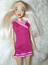 "My Scene Dolls ""Kennedy"" In Fushia Mini Dress With Full Bushy Hair Shoes"