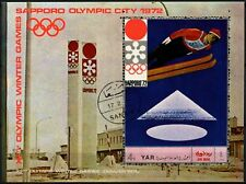 Yemen 1972 Winter Olympic Games Cto Used M/S #D64958