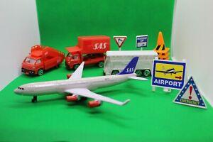 Star Alliance Premier Scandinavian Airlines Airport Play Set Models SAS