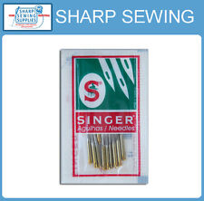 10 EACH SINGER BALL POINT 2045 GOLD TIP HOME SEWING MACHINE NEEDLES   SIZE#11