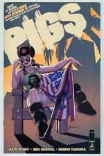 Pigs #3 November 2011 VF- Amanda Connor Cover