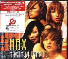 MAX - Maximum Trance - Japan CD - NEW J-POP
