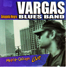 CD SINGLE promo VARGAS BLUES BAND amapola negra 2000 1-TRACK