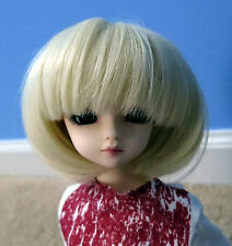 Doll Wig Short Bob Blonde BJD Ball Jointed Size 7, 8, 9, 10 NEW