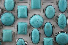 LOT de 50 turquoise bague