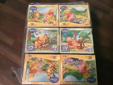 Lot of 18 Disney Winnie The Pooh Puzzles 50 piece in each  NEW 2008