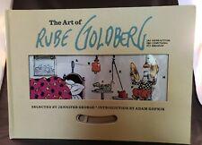 The Art of Rube Goldberg A) Inventive B) Cartoon C) Genius Trade Cloth First Ed.