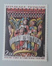 France année 1973 1741 neuf luxe ** tableau Musée imaginaire saint austremoine