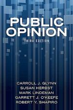 Public Opinion by Susan Herbst, Mark Lindeman, Garrett J. O'Keefe, Robert Y....