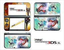 SKIN STICKER AUTOCOLLANT - NINTENDO NEW 3DS XL - REF 186 POKEMON X