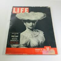 VTG Life Magazines: Jan 28 1946 - Jan Clayton in Show Boat/Winston Churchill