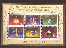 Jersey 2003 50th. Anniversary of Coronation m/s  MNH