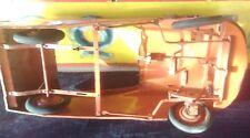 ancienne voiture à pédales enfant  CITROEN DS 1960,jouet,moto,cyclo,no émaillé
