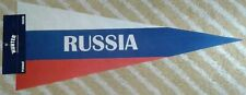 Russia Full Size country Pennant olympics soccer hockey Russian Federation