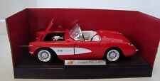 1957 Chevy Corvette Convertible Red Welly, 1/24 scale Diecast Model Toy Car-g24