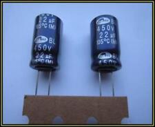 Elko Kondensator 22 µF 450 V 105°  12,5x20 mm ra.5  2 Stück