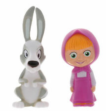 Masha and the Bear /Masha and the rabbit. - Set of 2 toys for bath -  new