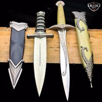 2PC LORD OF THE RINGS Sting Frodo MEDIEVAL ROMAN FANTASY DAGGER SWORD KNIFE SET