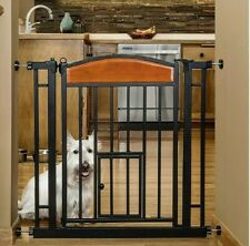 """New listing Carlson Pet Products Design Studio Home Decor Walk Pet Gate 30.5"""".to 33.5"""" Wide"""