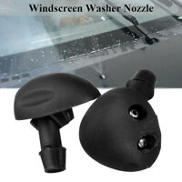 2pcs Front Windscreen Washer Jet Nozzle Water Spray For Renault MK1 Scenic