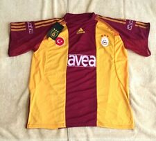 GALATASARAY AS ADIDAS SOCCER CLUB AVEA AUTHENTIC JERSEY - MENS LARGE - NEW W/TAG