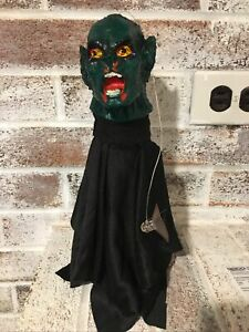 Vintage Mexican Halloween Monster Puppet Decoration Zombie Hanging